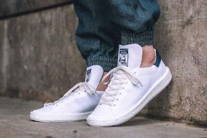 4085e67636e13 Adidas Stan Smith PK Boost Sneakers New Primeknit White Navy Jeremy ...