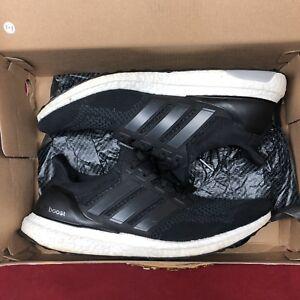 b498eddab59 Adidas Ultra Boost Core Black 1.0 US Size 11.5 S77417 Ultraboost ...