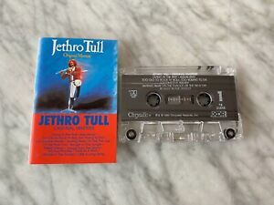 Jethro Tull Original Masters CASSETTE Tape 1985 Chrysalis F4 21515 Aqualung RARE