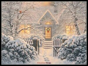 Winter-Wonderland-DIY-Chart-Counted-Cross-Stitch-Patterns-Needlework