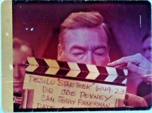 Star-Trek-TOS-35mm-Film-Clip-Slide-Taste-Armageddon-Clapper-Board-Fox-1-23-71