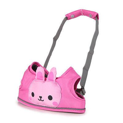 Zicac Rosa Farbe Baby Walk Lauflernhilfe mit Auffanggurt Lauflerngurt für Baby