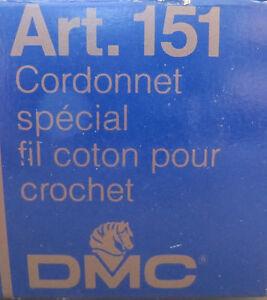 DMC-Art-151-Cordonnet-Cotton-Crochet-Lace-Thread-Blanc-Ecru-5-10-30-80-100-20g