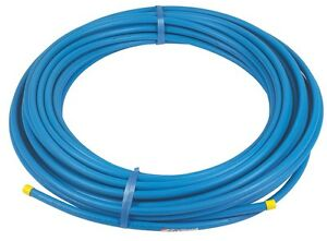 Blue Mdpe Plastic Water Mains Pipe 20mm Or 25mm In 25m Or