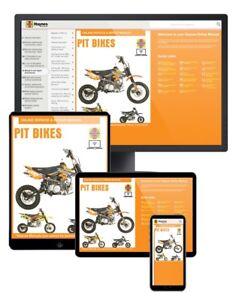Pit Bikes Lifan & Zongshen Petrol (1990-2016) Haynes Online Manual
