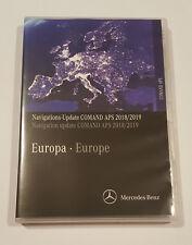 Mercedes-Benz Comand APS Ntg4 204 2018-2019 Map Update Europe