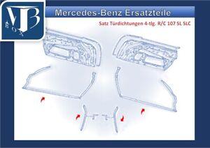 Mercedes-Benz-W107-R107-380SL-Set-Guarnizioni-Portiere-4-tlg