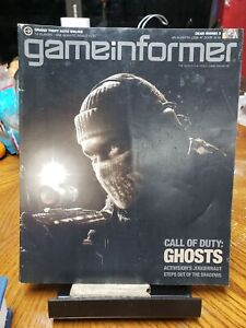 GAMEINFORMER Oct 2013 CALL OF DUTY: ghosts for ps3&4 Xbox 1/360 DAN RYCKERT