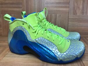 sports shoes 20b20 74897 Image is loading RARE-Nike-Air-Flightposite-Exposed-Volt-Photo-Blue-