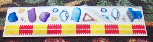 USA Sports Music Creative Memories Great Lengths Sticker Strips~U Choose~Cars