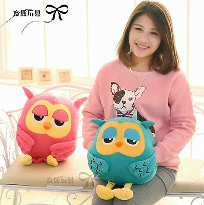Korean Drama The inheritors owl hand warm cushion plush toy Valentine's gift 1pc