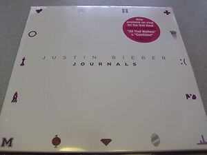 Justin-Bieber-Journals-2LP-Vinyl-Neu-amp-OVP-incl-MP3-Download
