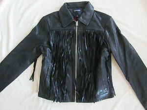 Jacket True Size Leather Small 599 Moto Fringe Nwt black Religion 889347477986 xqqIUpA