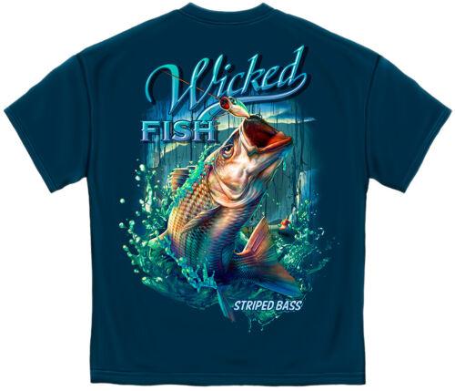 PreShrunk Cotton 6 Sizes Wicked Fish WF125T-Shirt