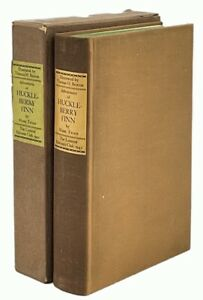 Adventures of Huckleberry Finn LIMITED EDITIONS CLUB SIGNED by Thomas H. Benton