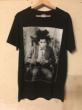 Supreme Jean Michel Basquiat 2013 Sz Medium Black Box Logo T-Shirt