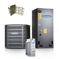 2.0 Ton 18 Seer Variable-speed Complete Split System A/c W/ Electrical Heat Kit