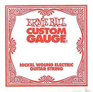 ernie ball nickel wound custom gauge electric guitar strings 6 pack. Black Bedroom Furniture Sets. Home Design Ideas