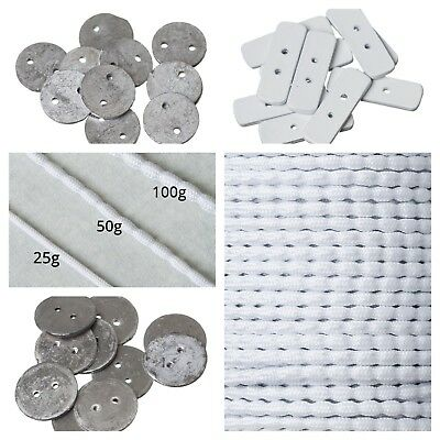 LL Round Lead Penny Curtain Weights 18047-M