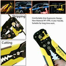 Auto Electric Cable Wire Crimper Crimping Tool Stripper Plier Cutter Machine