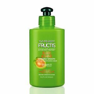 Garnier-Fructis-SLEEK-amp-SHINE-Intense-Smooth-Leave-in-Conditioner-10-oz-300mL