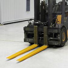 Vevor 96x58 Forklift Pallet Fork Extensions Pair Slide Clamp Lift Trucks