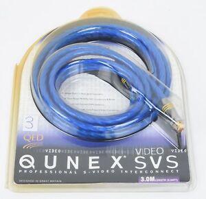 QED-Qunex-SVS-EAN-000229-S-Video-S-Video-Kabel-3-0-m-UVP-war-159-00