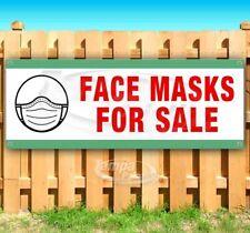 Face Masks For Sale Advertising Vinyl Banner Flag Sign Many Sizes Usa