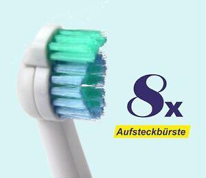 8-x-Ersatzbuerstenkoepfe-fuer-Philips-Sonicare-Sensiflex-Aufsteckbuersten-HX2012