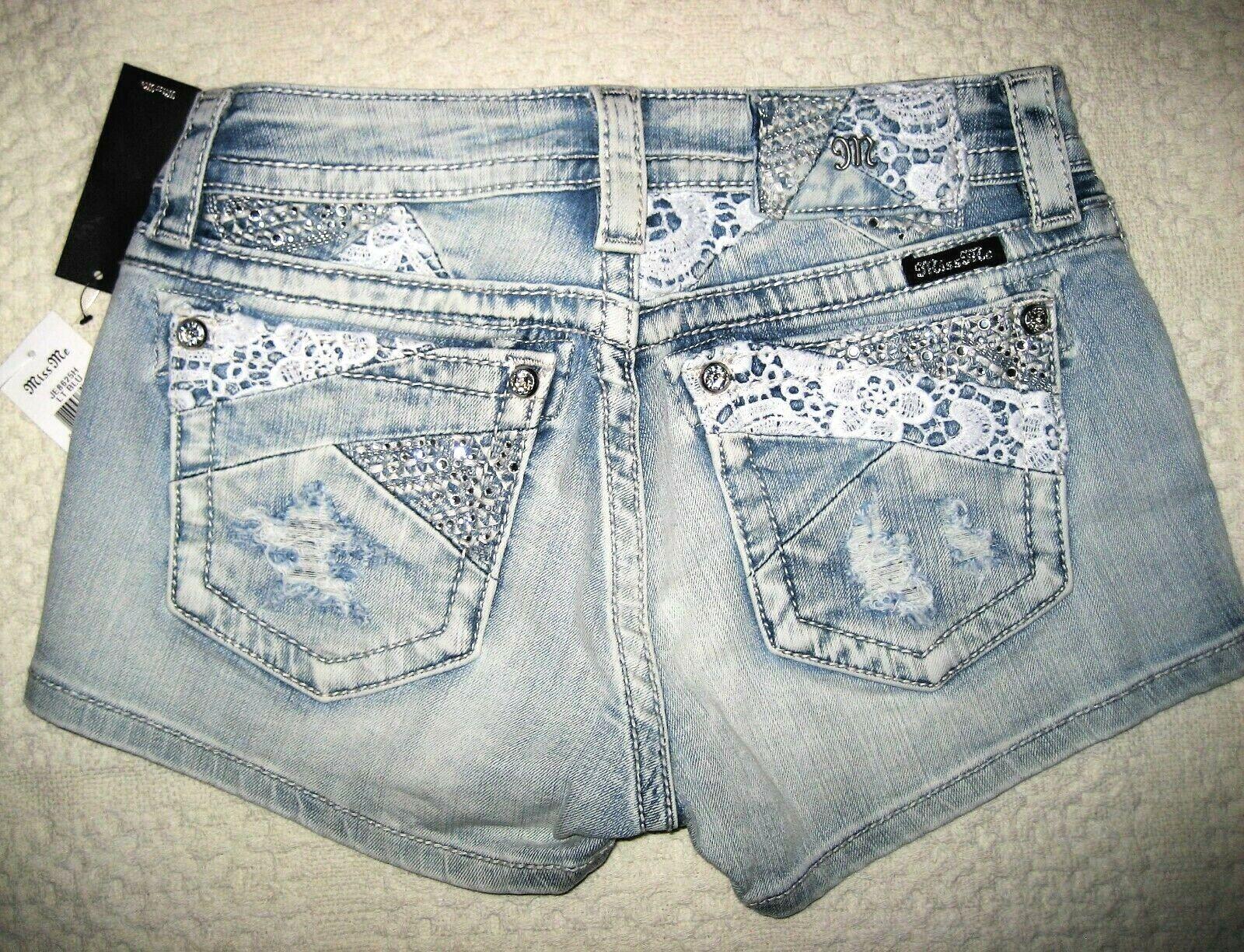Miss Me Jeans Shorts Signature Women's Shorts Size 28