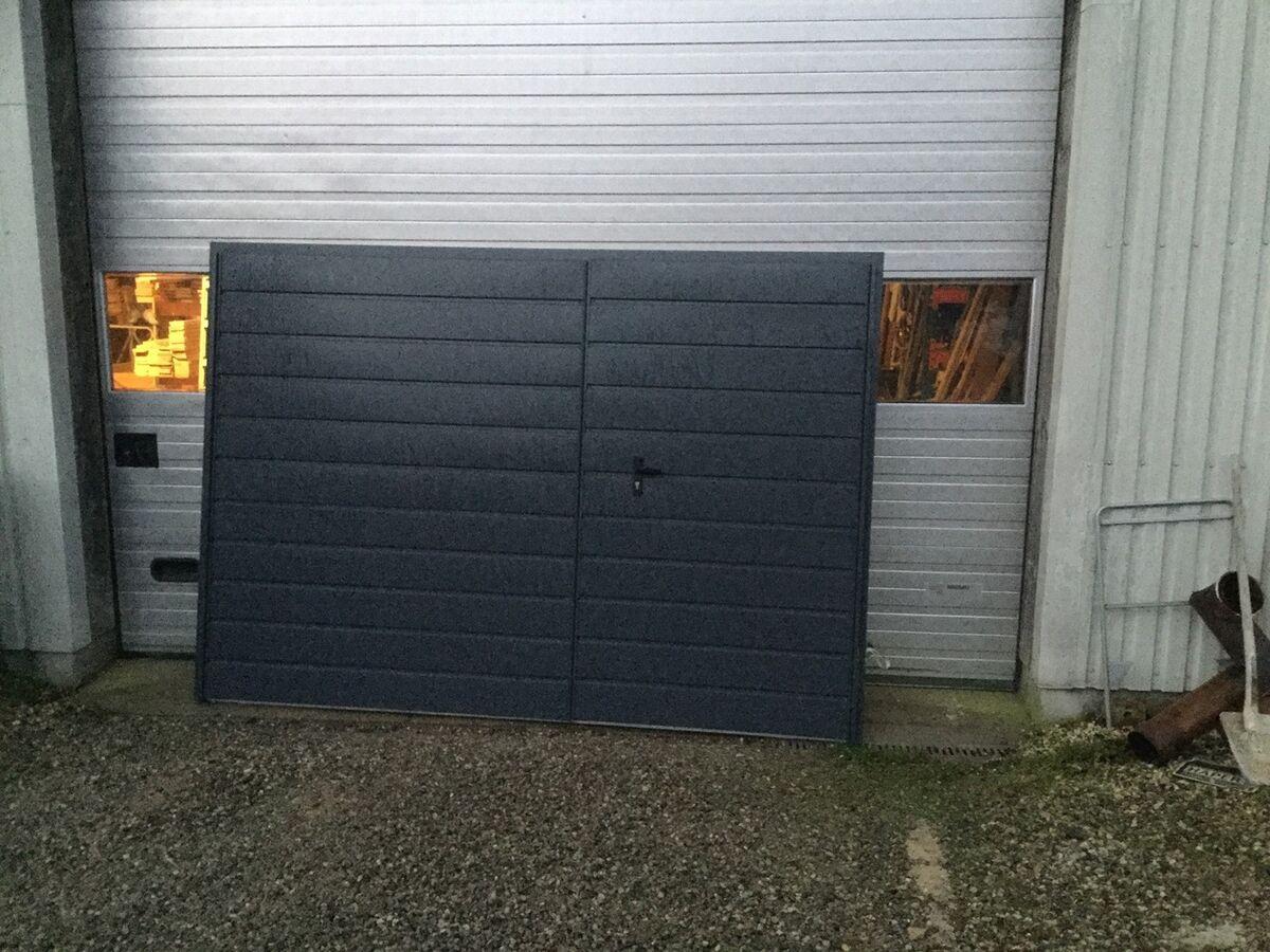 Garageport, DM Doors, 289 200 – dba.dk – Køb og Salg af Nyt og Brugt