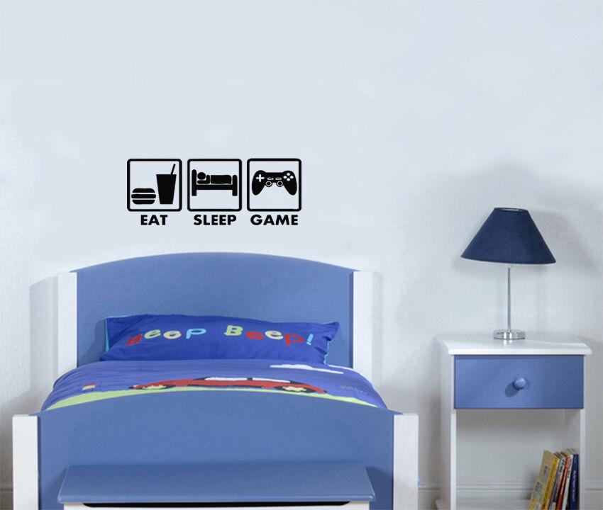 EAT SLEEP GIOCO XBOX plastica WII Ventole per bambini bambini bambini 7a2656