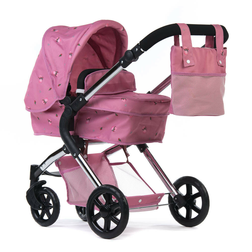 Roma Darcie Single Dolls Pram Rosa - 3-9 years Ideal Present For All Ages