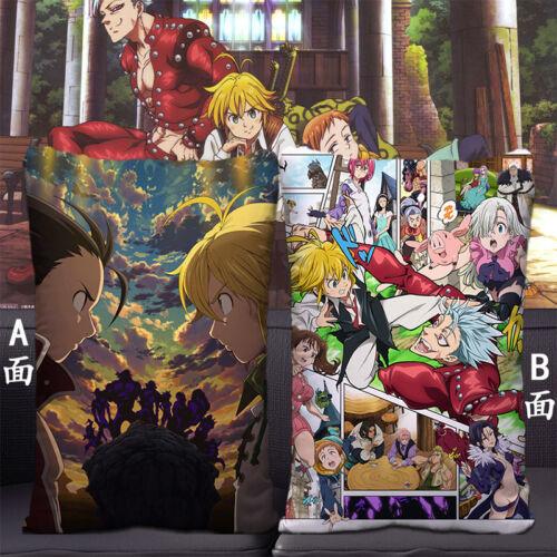 Dakimakura Anime The Seven Deadly Sins Cos Bedding Pillow Case Gift 35*55cm #C19