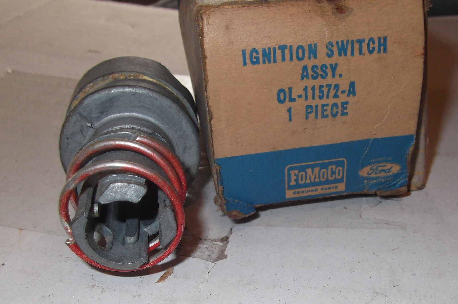 1949 1950 1951 Ford Mercury Nos Ignition Switch F100 Lincoln Ol Ez Wiring Norton Secured Powered By Verisign