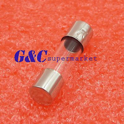50Pcs Glass Fuse 5 x 20mm 250V 1A 1000mA Fast Blow DIY RoHS Good Quality NEW