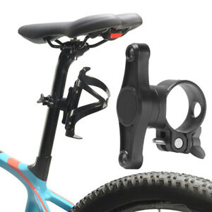 Outdoor Riding Cycling Seat Post Back Double Water Bottle Holder Cage Rack BG1