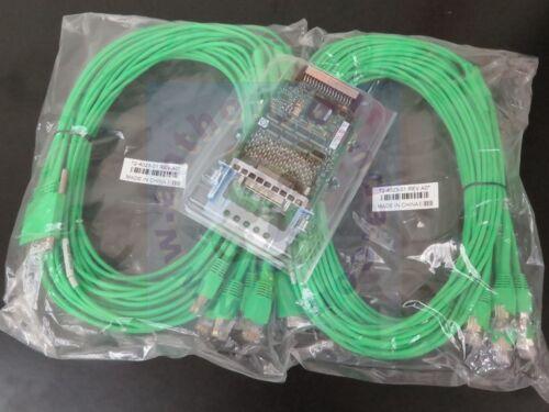 NEW Genuine Cisco HWIC-16A V02 2 CAB-HD8-ASYNC Octal Console Terminal Cables
