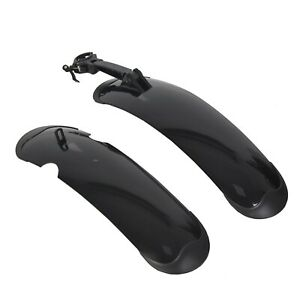"""Electric Bike Fenders for ECOTRIC 26/"""" Fat Tire Mountain Electric e-Bike Bicyclec"""