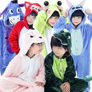 childrens-clothing-Unisex-Kids-Kigurumi-Pajamas-Anime-Cosplay-Costume-Sleepwear