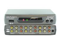 SHINYBOW 4x2 4 2 AUTO COMPOSITE VIDEO & AUDIO SWITCHER SELECTOR SWITCH SB-5420