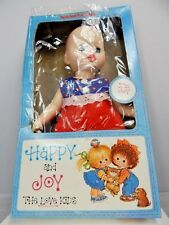 Nos Vintage 1970s Knickerbocker Baby Doll Happy And Joy Dime Store Blinking Eyes