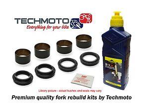 Suspension kit Fork Seals Dust Seals Bushes for Kawasaki KLE650 Versys 07-15