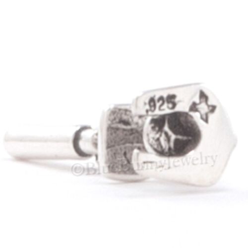 3D MICROSCOPE Medical Pendant Charm Scientist science 925 STERLING SILVER