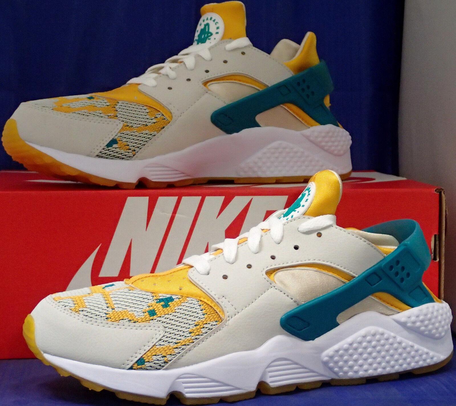 Nike Aire Huarache Run pa Claro Claro Claro Hueso Radiante Esmeralda Dorado Talla 10.5 e9effc