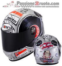 Helmet Suomy Sr sport Dovizioso Mugello Ducati casque moto integral helm size M