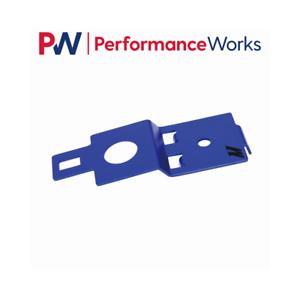 Mishimoto Aluminum Radiator Stay Anodized Blue Fits 02-07 Subaru Impreza WRX