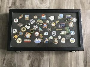Details about Lot of Vintage Enamel Pins - 47 Count