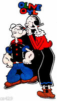 6.5 Popeye Olive Oyl Character Fabric Applique Iron On