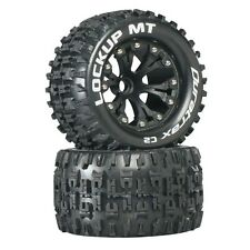 Duratrax DTXC3506 Mounted Front Lockup MT Tire / Wheel Set (2) Stampede Jato